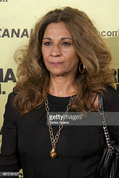 Spanish singer Lolita Flores attends the 'Carmina y Amen' premiere at the Callao cinema on April 28 2014 in Madrid Spain