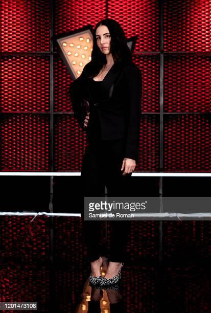 Spanish singer Mala Rodriguez attends 'La Voz' Coaches Presentation In madrid on January 23, 2020 in Madrid, Spain.