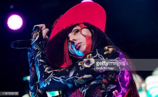 Spanish singer Mala Rodriguez in concert at Joy Eslava on November 11, 2019 in Madrid, Spain.