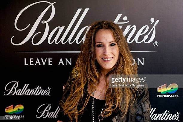 Spanish singer Malu attends to the candidates for 40 Principales Award 2011 Presentation at 40 Cafe on October 13 2011 in Madrid Spain