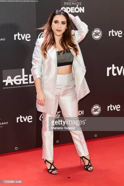 Spanish singer Marta Soto attends Odeon Awards 2020 at Royal Theater on January 20 2020 in Madrid Spain