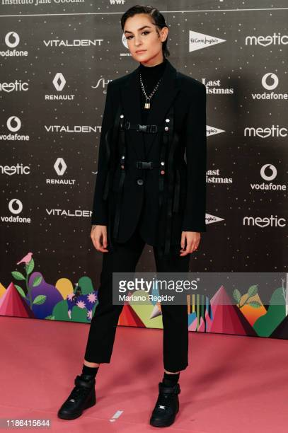 Spanish singer Natalia Lacunza attends 'Los40 music awards 2019' photocall at Wizink Center on November 08 2019 in Madrid Spain