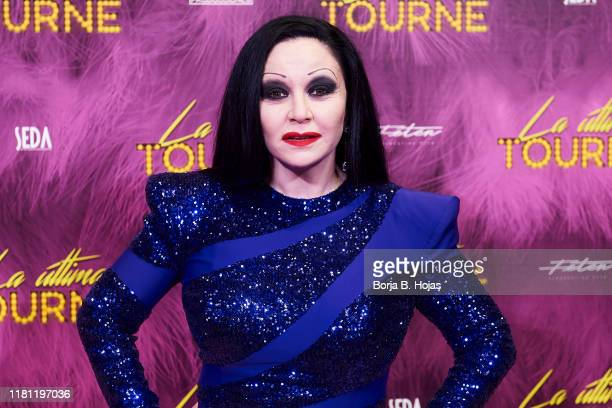 Spanish singer Olvido Gara attends photocall of 'La Ultima Tourne' on October 15 2019 in Madrid Spain