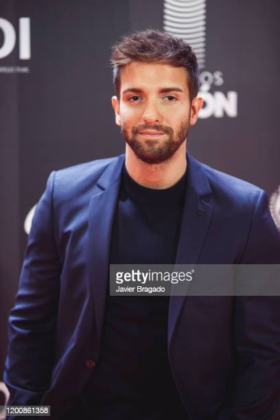 Spanish singer Pablo Alboran attends the 1st Odeon Awards at Teatro Real on January 20, 2020 in Madrid, Spain.