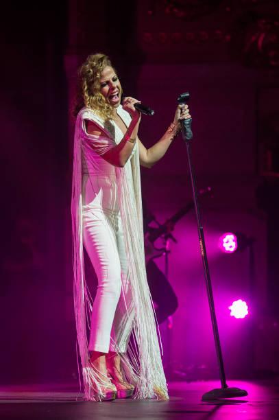 ESP: Pastora Soler Concert In Barcelona