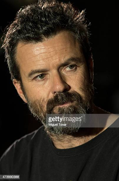 Spanish singer Pau DoneŽs vocalist of Spanish band Jarabe de Palo attends a press conference to promote the Americano 2015 Tour on May 19 2015 in...