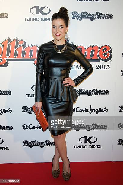 Spanish singer Roko attends the Rolling Stone Magazine Awards 2013 at the Kapital Club on November 28 2013 in Madrid Spain
