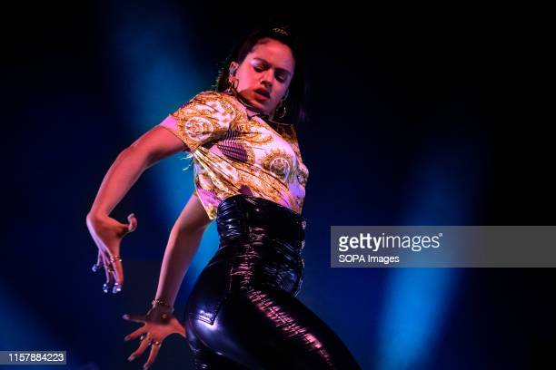 REBEL TORONTO ONTARIO CANADA Spanish singer Rosalía Vila Tobella better known by her stage name Rosalía performed a sold out show in Toronto
