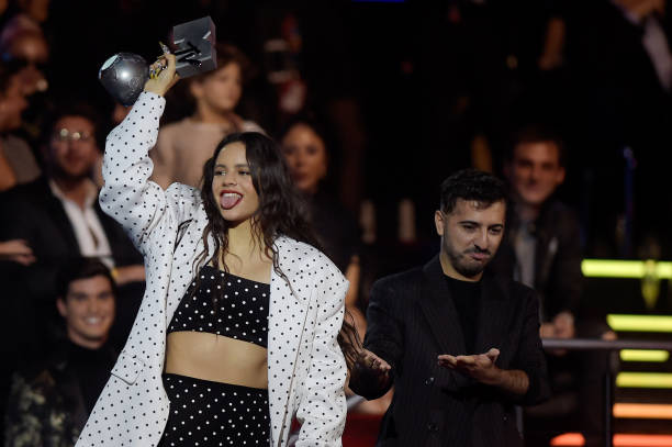 ESP: MTV EMAs 2019 - Winners Room