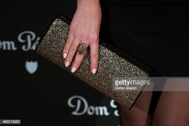 Spanish singer Roser attends Dom Perignon party at the Duarte Palace on December 9 2014 in Madrid Spain
