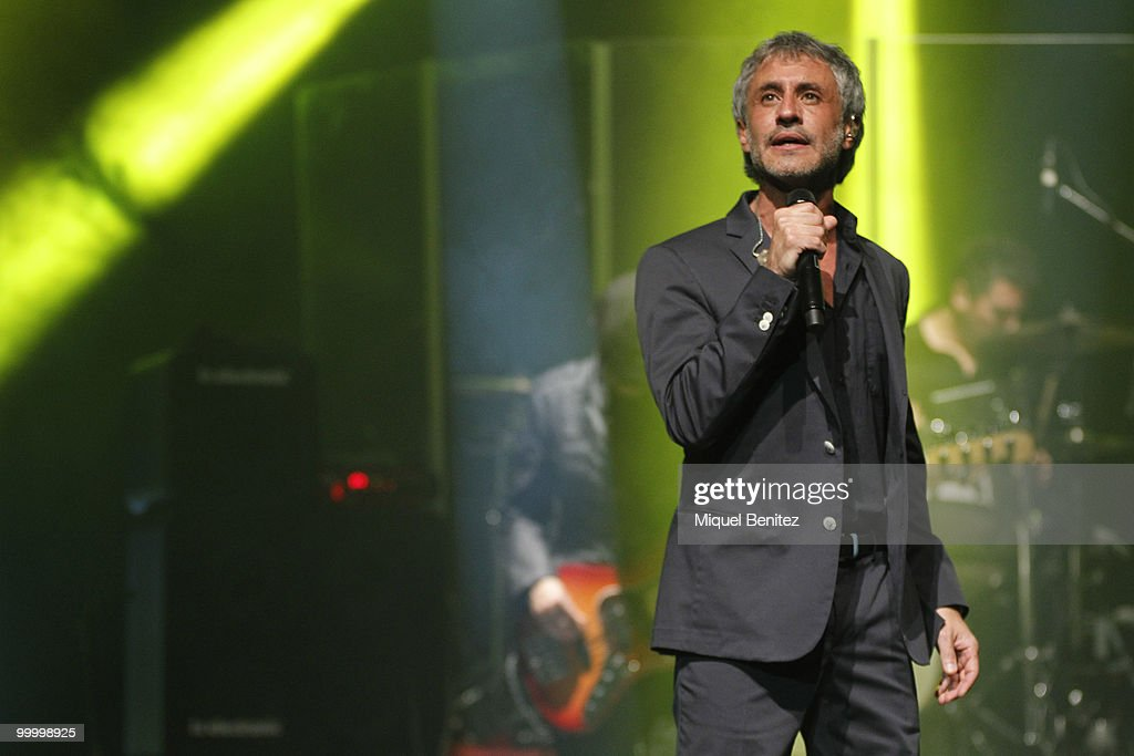 Sergio Dalma Performs in Concert in Barcelona