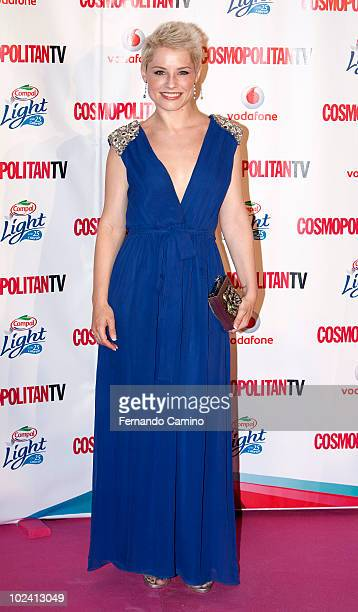 Spanish singer Soraya Arnelas attends the 'Petalo Awards' photocall by Cosmopolitan TV on its 10th Anniversary on June 24 2010 in Madrid Spain