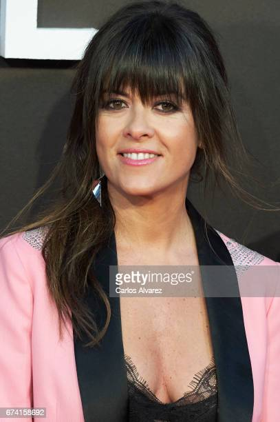 Spanish singer Vanesa Martin attends 'Las Chicas Del Cable' premiere at the Callao cinema on April 27 2017 in Madrid Spain
