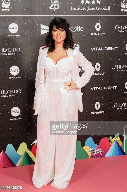 Spanish singer Vanesa Martin attends 'Los40 music awards 2019' photocall at Wizink Center on November 08 2019 in Madrid Spain