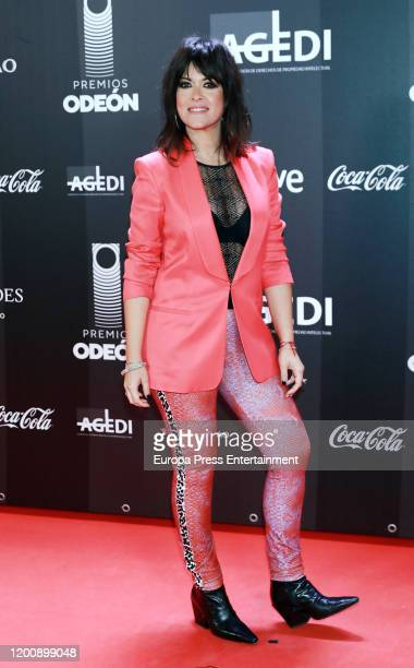 Spanish singer Vanesa Martin attends Odeon Awards 2020 at Royal Theater on January 20 2020 in Madrid Spain