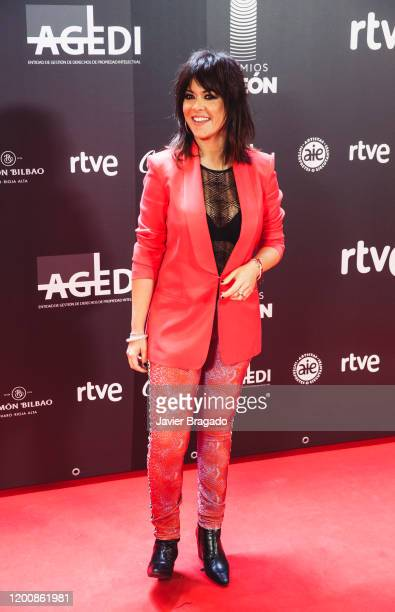 Spanish singer Vanesa Martin attends the 1st Odeon Awards at Teatro Real on January 20 2020 in Madrid Spain
