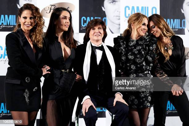 Spanish singers Pastora Soler Ruth Lorenzo Camilo Sesto Marta Sanchez and Monica Naranjo present Camilo Sesto's new album 'Camilo Sinfonico' at the...