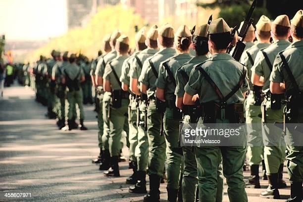 soldados espanhóis - desfiles e procissões - fotografias e filmes do acervo