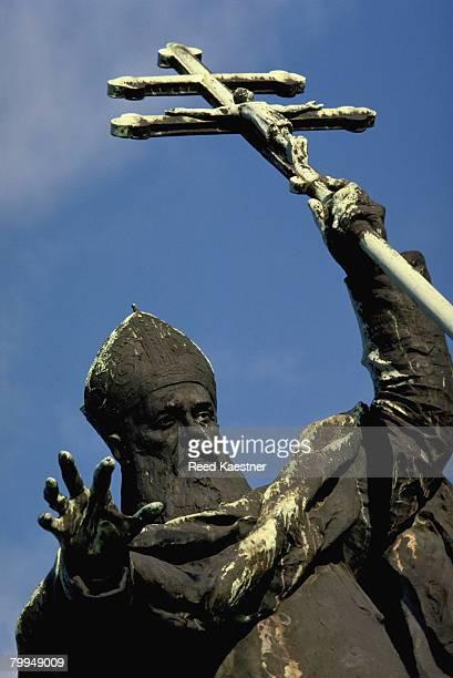 Spanish Statue of a Church Patriarch