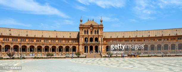 spanish steps in seville, spain - spanish culture stock pictures, royalty-free photos & images