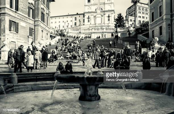 spanish steps #1 - renzo gherardi stock photos and pictures
