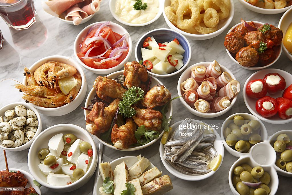 Spanish Stills: Tapas - Large Variety : Stock Photo