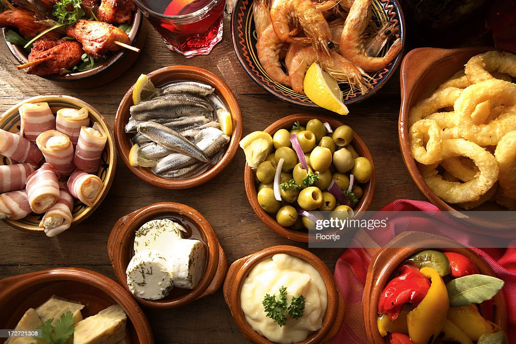 Spanish Stills: Tapas - Variety : Stock Photo