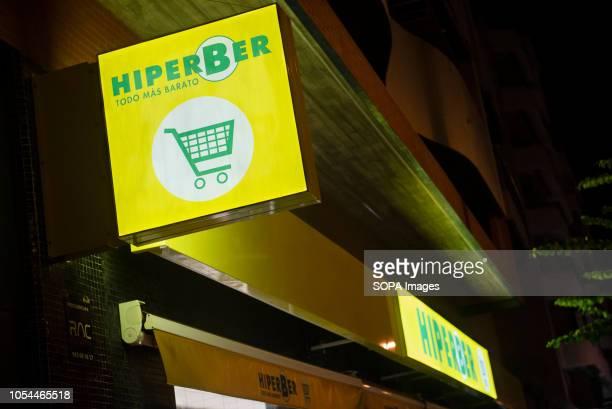 Spanish supermarket chain Hiperber seen in Spain