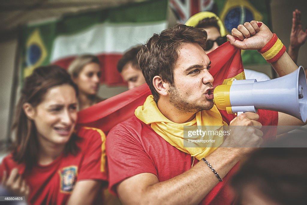 Estadio defensores en español : Foto de stock