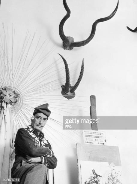 Spanish surrealist artist Salvador Dali circa 1955