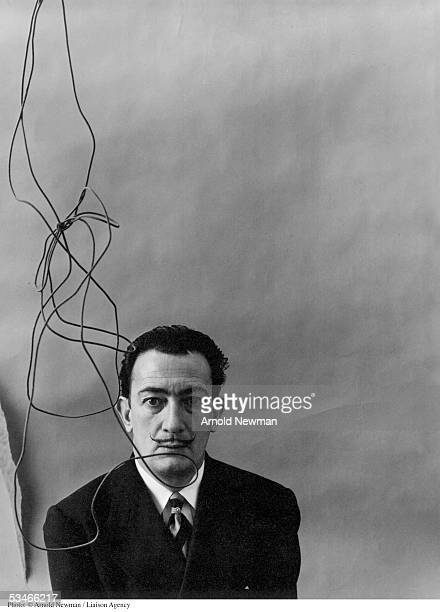 Premium Rates Apply. Minimum rate $500 USD. 373182 01: Spanish Surrealist artist Salvador Dali poses for portrait January 10, 1951 in New York City.
