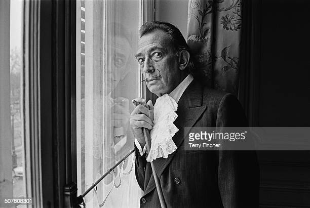 Spanish surrealist painter Salvador Dali 29th December 1964