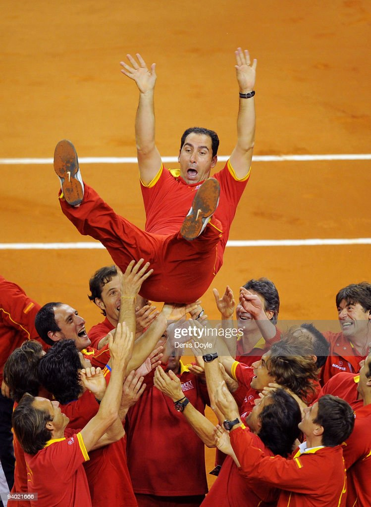 Spain v Czech Republic - Davis Cup World Group Final - Day Two