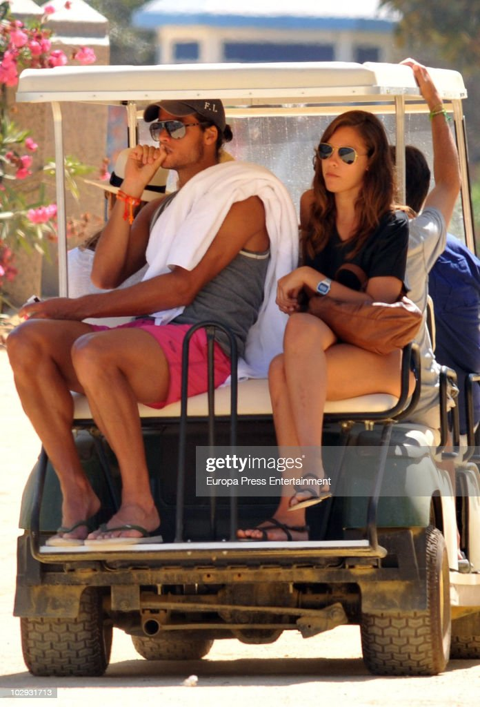 Feliciano Lopez And His New Girlfriend Sighting In Marbella - July 1 : News Photo