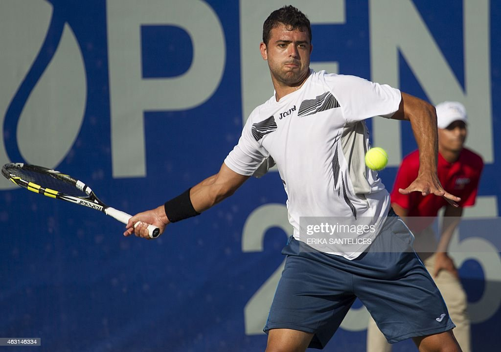 TENNIS-DOMINICAN REP-CERVANTES-JARRY : News Photo