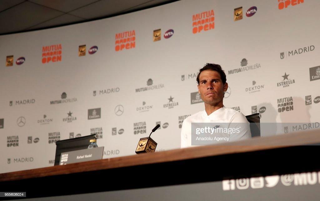 2018 Mutua Madrid Open : Fotografía de noticias