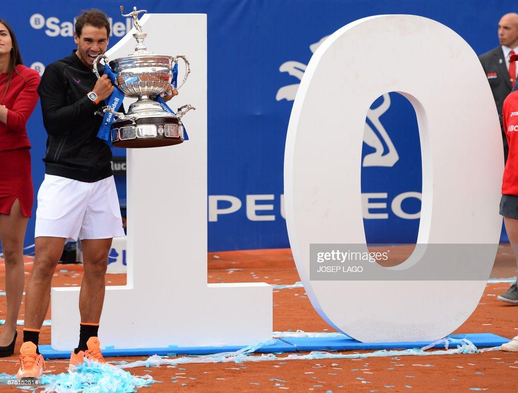 TENNIS-ATP-ESP-BARCELONA-OPEN : News Photo