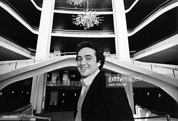 Spanish tenor Jose Carreras at the Metropolitan Opera in 1978