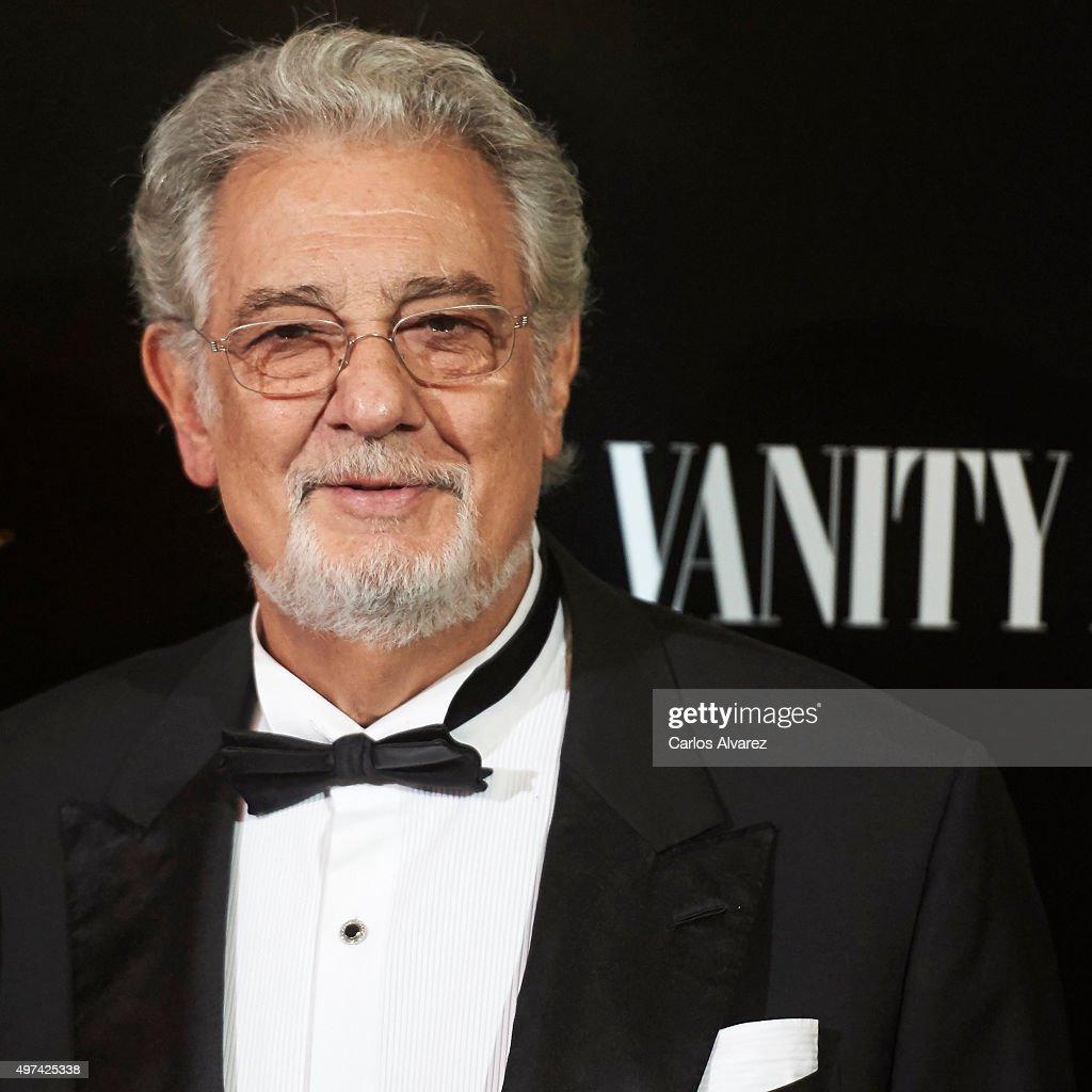 Spanish tenor Placido Domingo attends the 'Vanity Fair Personality Of The Year' Gala at the Hotel Ritz on November 16, 2015 in Madrid, Spain.