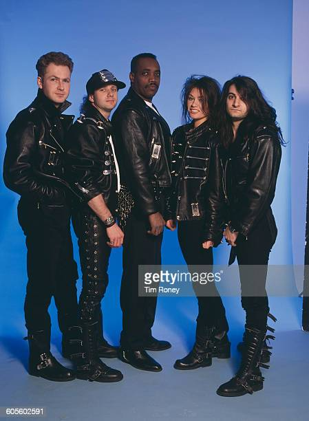 Spanish thrash metal band Enrage circa 1994