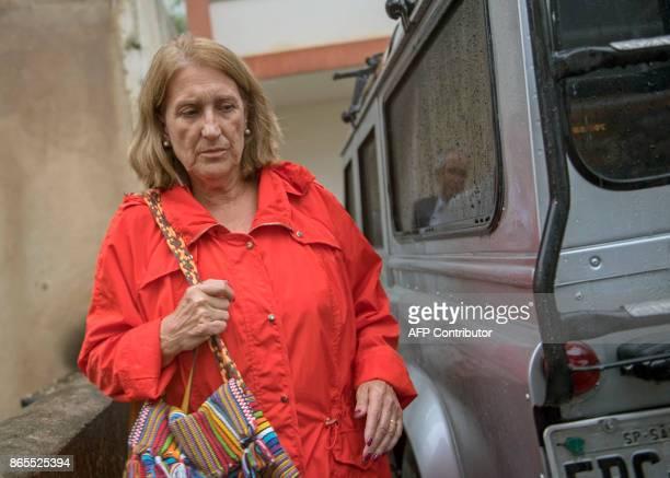 Spanish tourist Rosa Margarita Martinez sisterinlaw of Maria Esperanza Jimenez shot dead by police while visiting Rocinha favela leaves the Special...