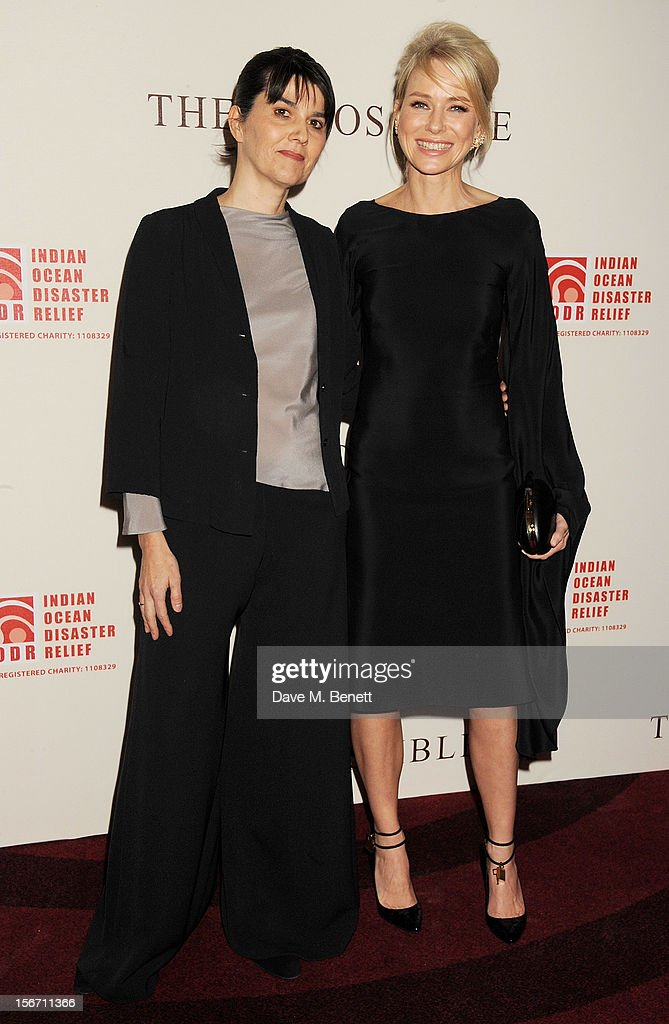 Spanish tsunami survivor Maria Belon (L) and actress Naomi Watts attend the UK charity premiere of 'The Impossible' at BFI IMAX on November 19, 2012 in London, England.