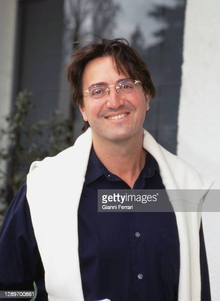 Spanish TV presenter and humorist Rody Aragon, Madrid, Spain, 1999.