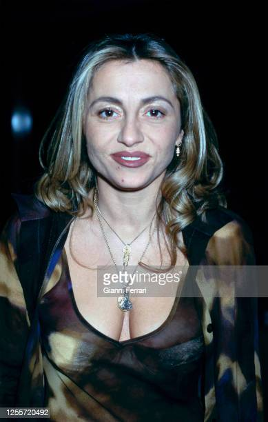 Spanish TV presenter Cristina Tarrega Madrid Spain 1993