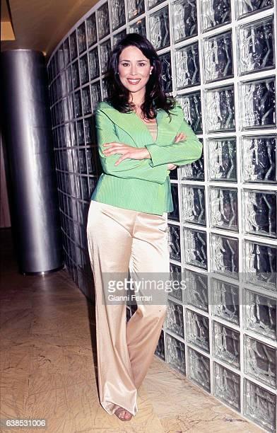 Spanish TV presenter Minerva Piquero on 'Onda 6' 23rd September 2009 Madrid Spain
