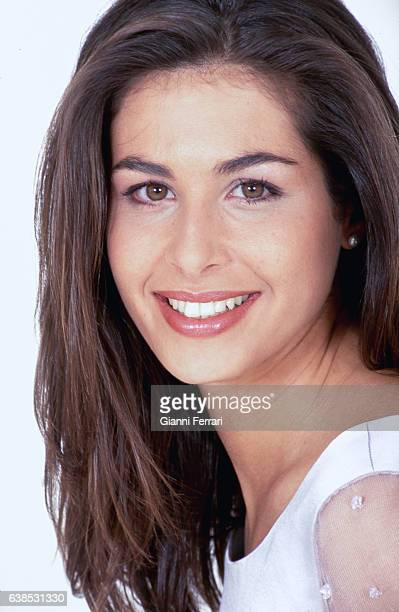 Spanish TV presenter Nuria Roca Madrid Spain