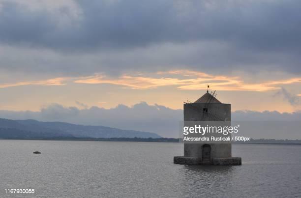 spanish windmill - orbetello imagens e fotografias de stock