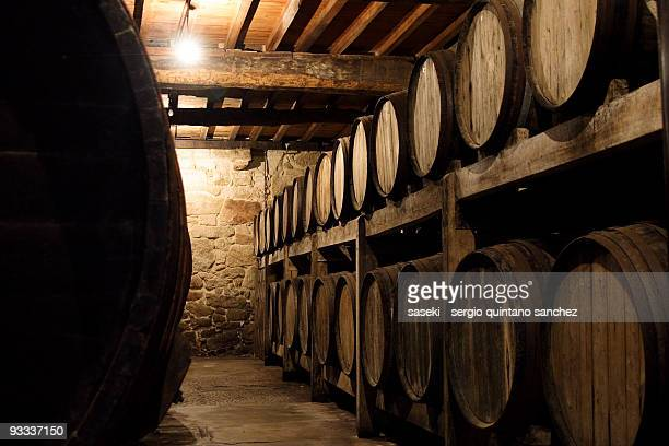 spanish wine cellar - ワインセラー ストックフォトと画像
