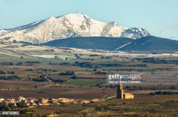 Spanish winter landscape