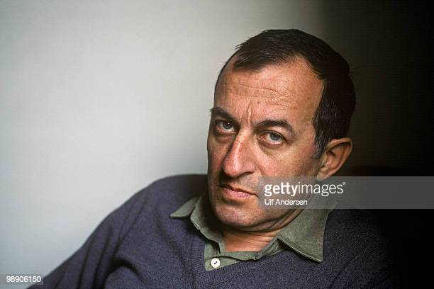 PARIS FRANCE FEBRUARY 5 Spanish writer Juan Goytisolo poses at home on February 5 1988 in ParisFrance